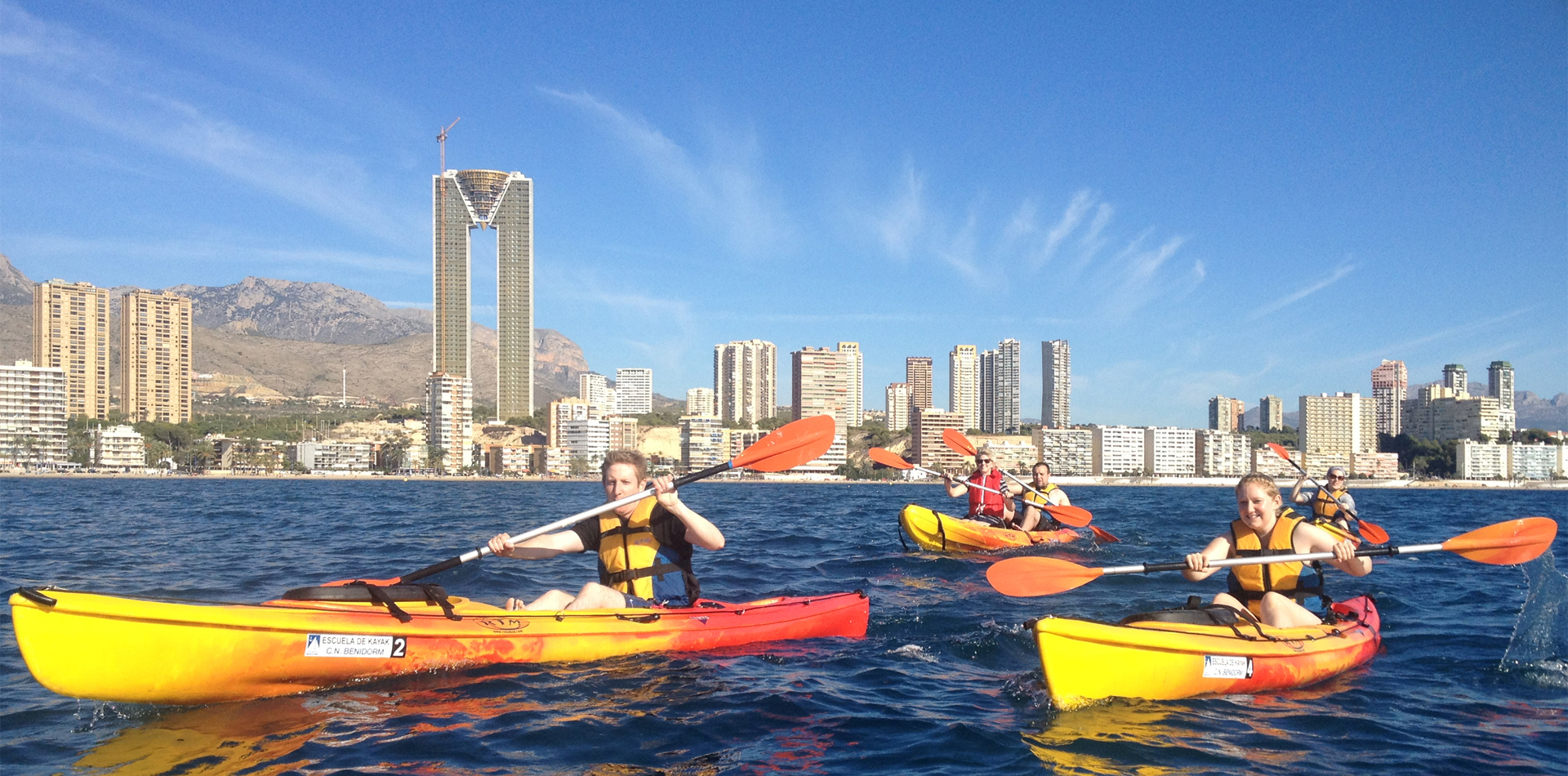 Sea Kayak Benidorm Costa Blanca